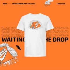 CAMISETA NIKE WAITING FOR THE DROP BLACK/PRETA – EDIÇÃO ESPECIAL