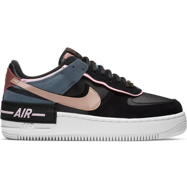 TÊNIS NIKE AIR FORCE 1 SHADOW CLAYSTONE RED (W)