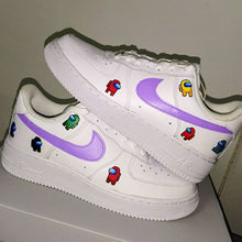 Carregar imagem no visualizador da galeria, TÊNIS NIKE AIR FORCE 1 X AMONG US CUSTON