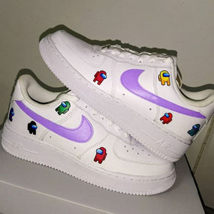 TÊNIS NIKE AIR FORCE 1 X AMONG US CUSTON