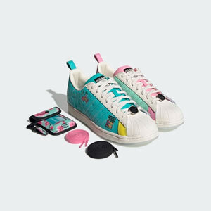 TÊNIS ADIDAS SUPERSTAR ARIZONA TEAL