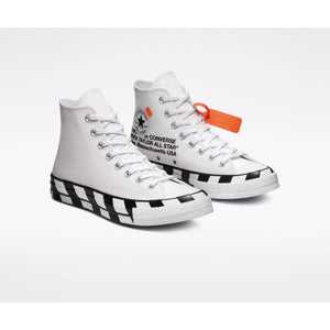 TÊNIS CONVERSE CHUCK TAYLOR ALL-STAR HI OFF-WHITE