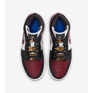TÊNIS AIR JORDAN 1 MID DARK BEETROOT