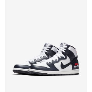 TÊNIS NIKE SB DUNK HIGH FUTURE COURT OBSIDIAN WHITE