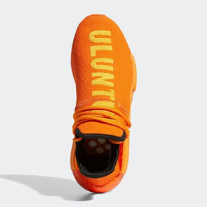 TÊNIS PHARRELL PW X ADIDAS NMD HU ULUNTU ORANGE