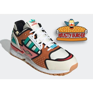 TÊNIS ADIDAS ZX 10000 X SIMPSONS KRUSTY BURGER