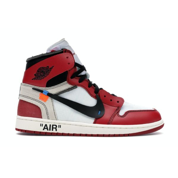 TÊNIS JORDAN 1 RETRO HIGH OFF-WHITE CHICAGO