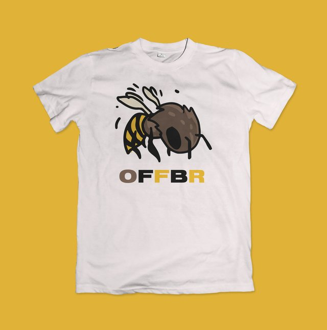 T-SHIRT BEE COOL - OFFBR