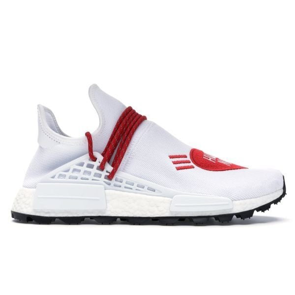 TÊNIS ADIDAS NMD HU PHARRELL HUMAN MADE WHITE RED