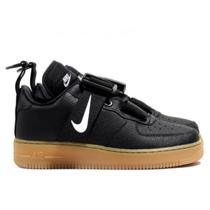 TÊNIS NIKE AIR FORCE 1 UTILITY BLACK GUM