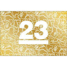 Carregar imagem no visualizador da galeria, MOLETOM BAPE 23 ANNIVERSARY GOLD COLLECTION