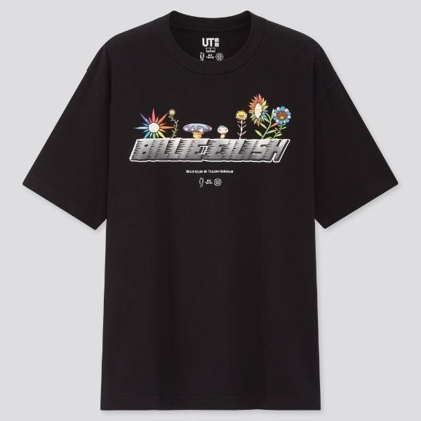 CAMISETA BILLIE EILISH BY TAKASHI MURAKAMI UT