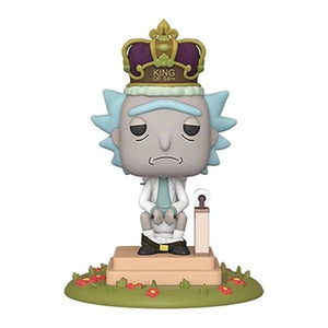 FUNKO POP! RICK (KING OF SHIT): RICK & MORTY (DELUXE WITH SOUND) #694