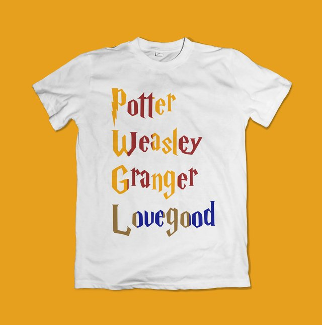 CAMISETA HARRY POTTER - OFFBR