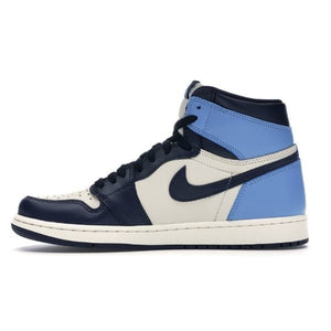 TÊNIS NIKE AIR JORDAN 1 RETRO HIGH OBSIDIAN UNC