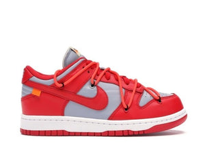 TÊNIS NIKE DUNK LOW OFF-WHITE UNIVERSITY RED