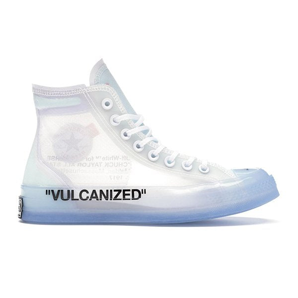TÊNIS CONVERSE CHUCK TAYLOR ALL-STAR VULCANIZED HI OFF-WHITE