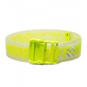 CINTO OFF-WHITE INDUSTRIAL LOGO RUBBER BELT COLOURS