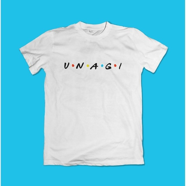 CAMISETA FRIENDS UNAGI - OFFBR