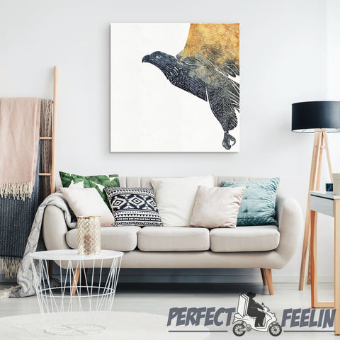 Woodland Eagle Wall Art K061219 - Made in Usa