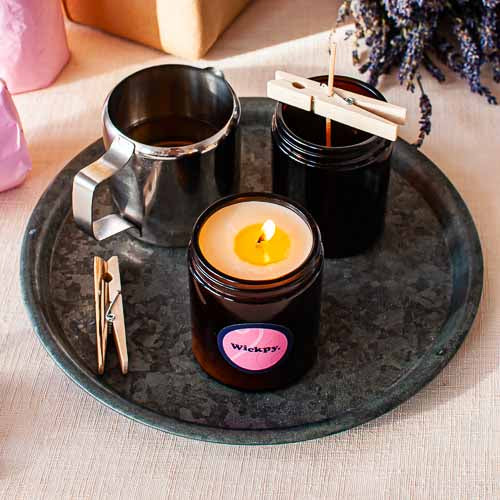 how to care for soy candles