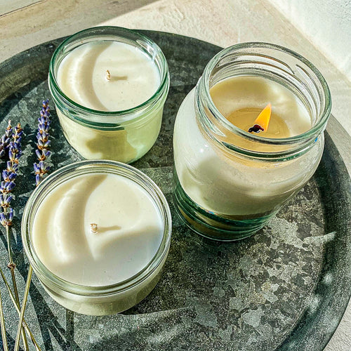 using essential oils in candles - the easy way