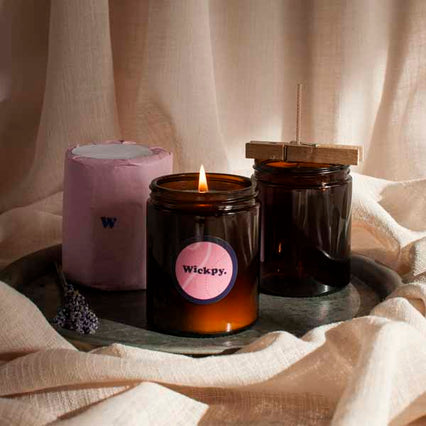 make your own soy aromatherapy candles