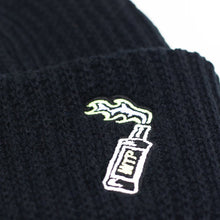 Load image into Gallery viewer, Cocktail Beanie Black
