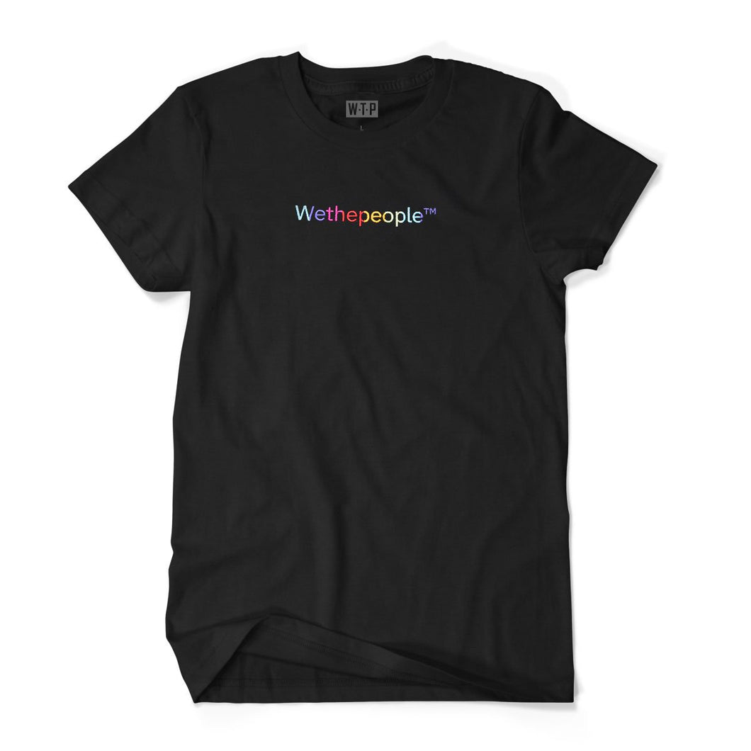 WTP Embroidery Gradient BLK