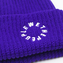 Load image into Gallery viewer, Illuminati Beanie Purple