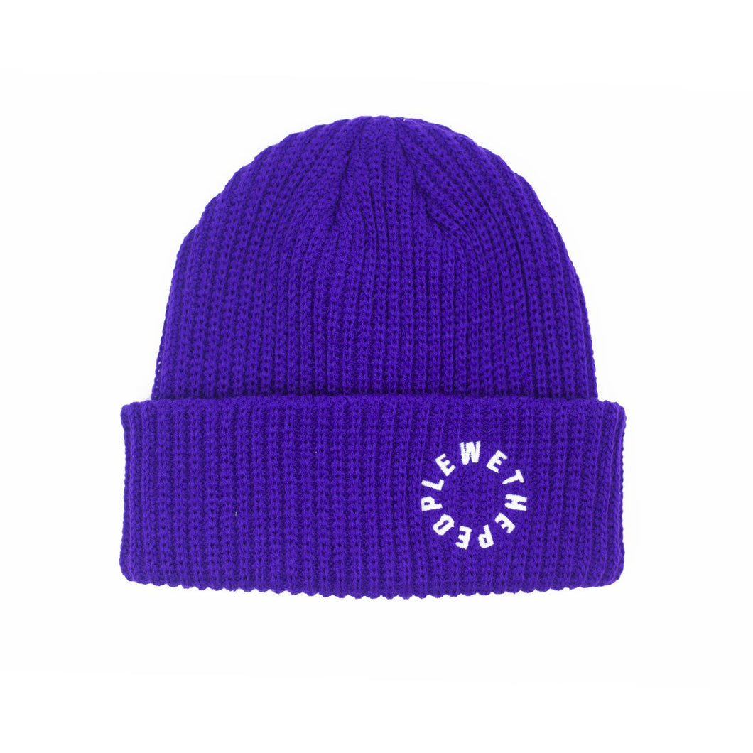 Illuminati Beanie Purple