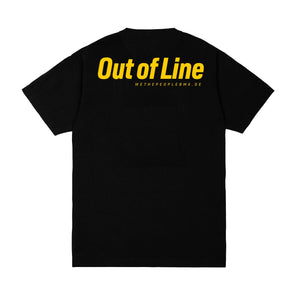Out Of Line Tee BLK