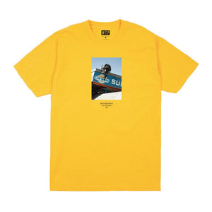 """Cover"" Tee Yellow"