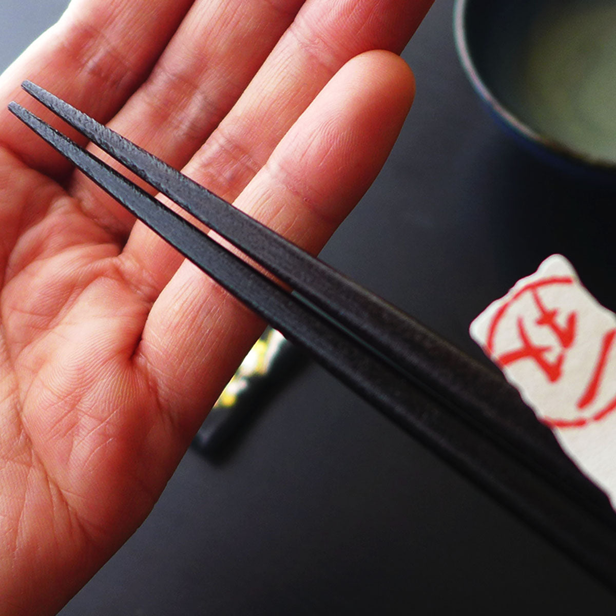 "Enjoy chopsticks! with plum blossoms Vol.1 ""Wakasa lacquerware"""