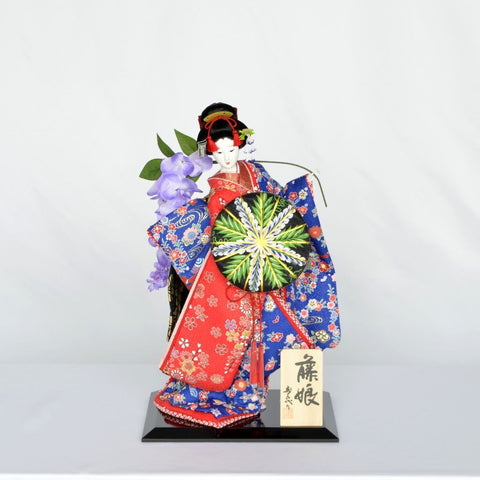 """Japanese Doll """"Wisteria maiden"""" Size10"""