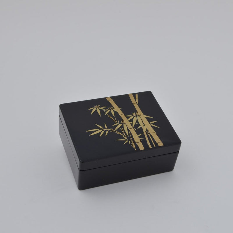 "Lacquerware Box ""Bamboo"" 漆器 3.5寸小箱 竹"