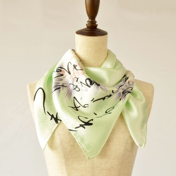 Silk scarf square