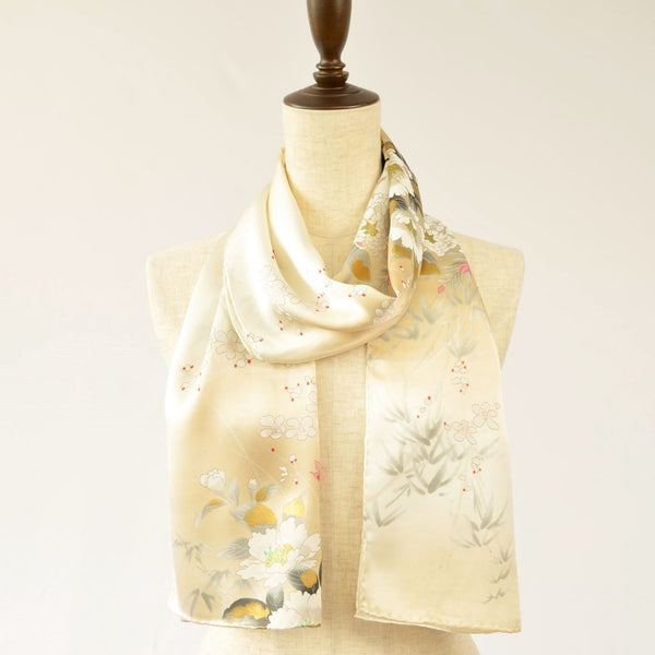 Silk scarf long