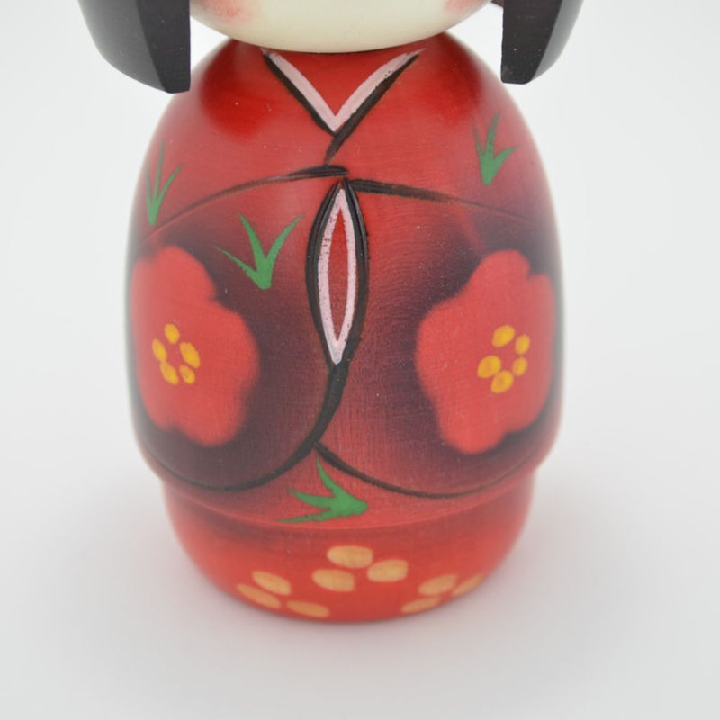 "TOY Kokeshi doll ""Hohoemi (Smile)""  こけし ほほえみ"