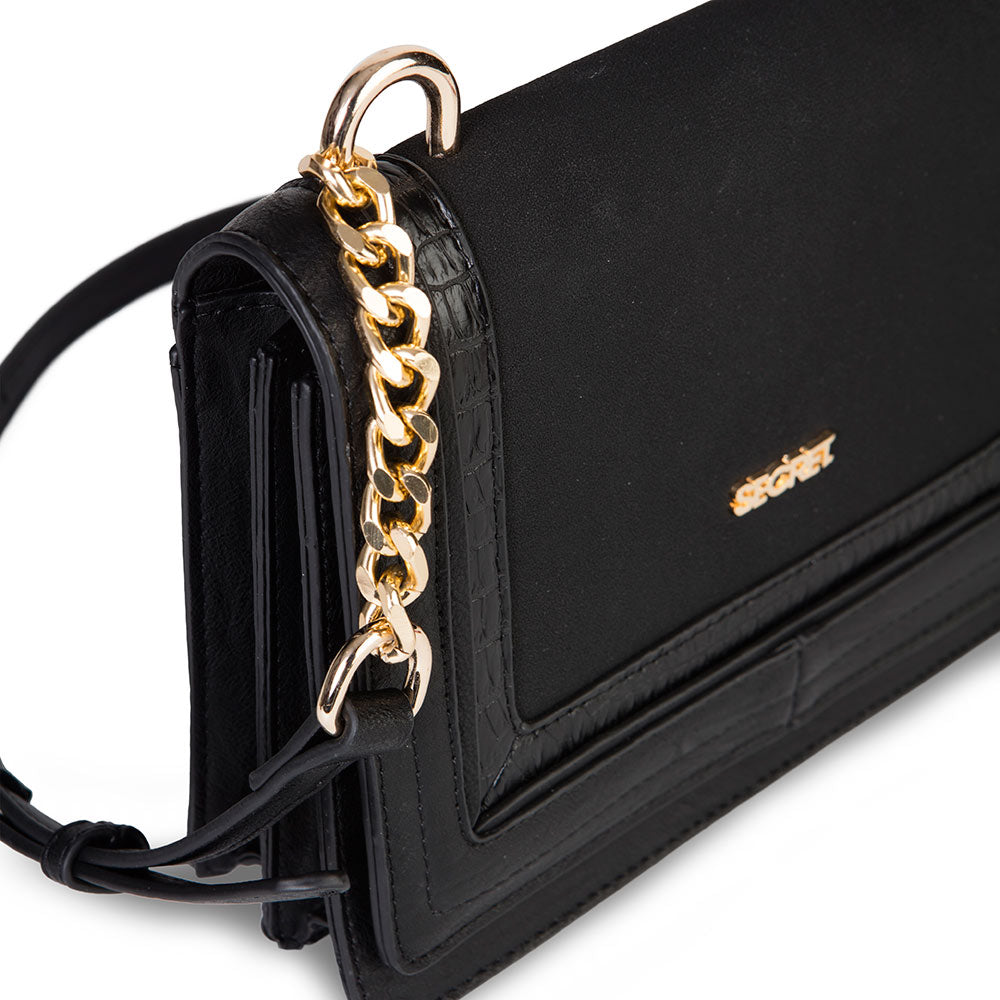 Cartera Helsinburgo Fw20 Cross Bag Black S