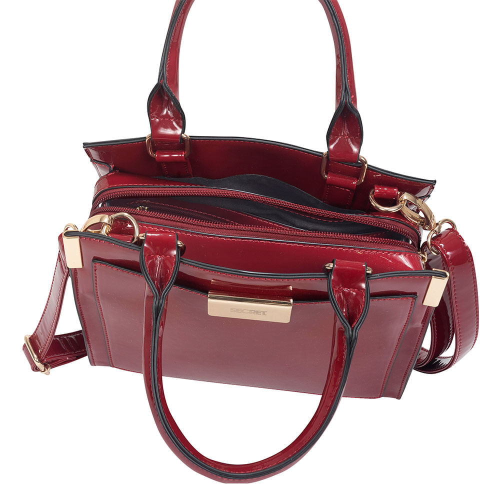 Cartera Estonia Fw19 Tote S 3Dv Red