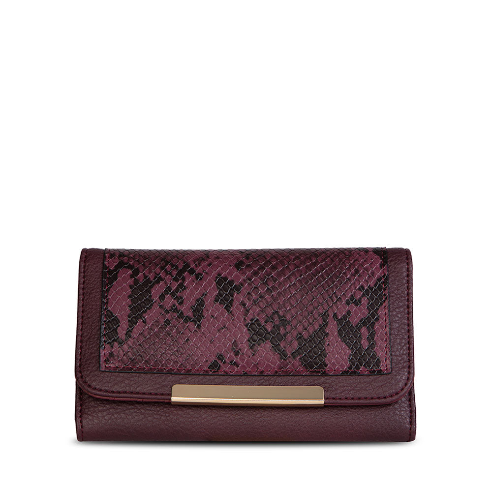 Billetera Roveniemi Fw20 Burgundy L