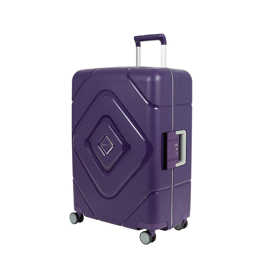 Maleta Lock-Box Spinner 66 Purple M 72 Lts