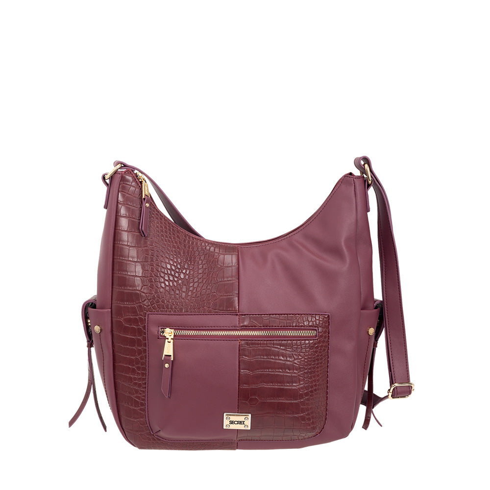 Cartera Urbino Cross Bag Burgundy L