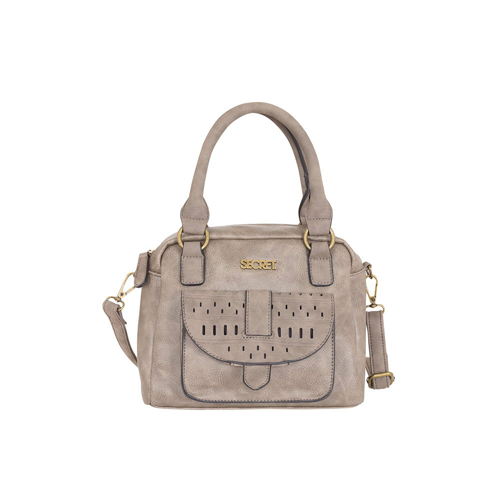 Cartera Baltimore Satchel Bag Gris M