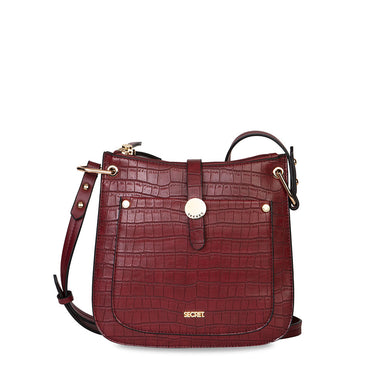 Cartera Lisburn Fw20 Crossbag Burgundy M