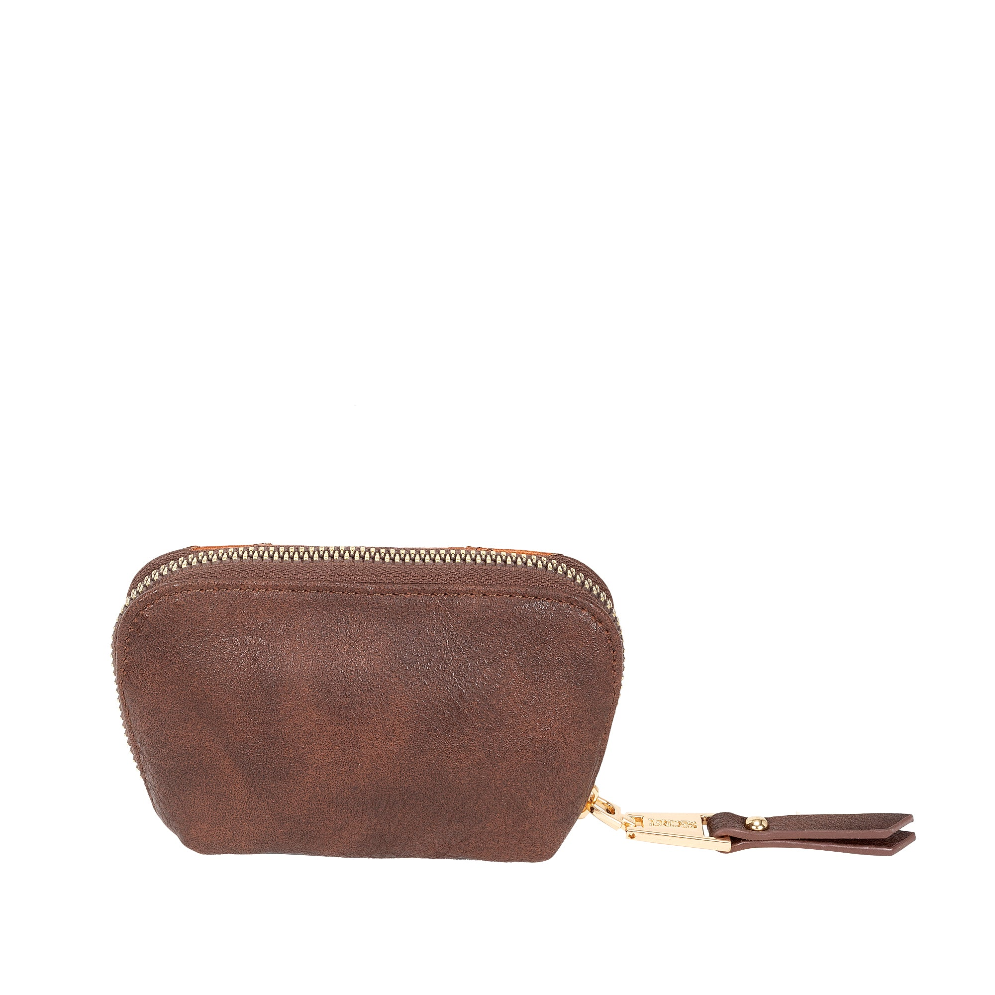 Monedero Etiopia Coin holder Brown M