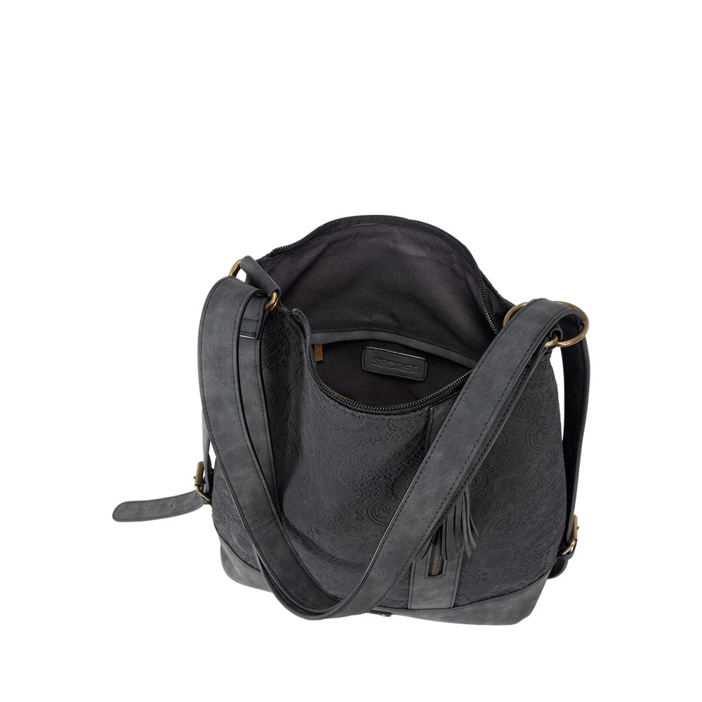 Mochila Oxford Convertible Backpack Black L