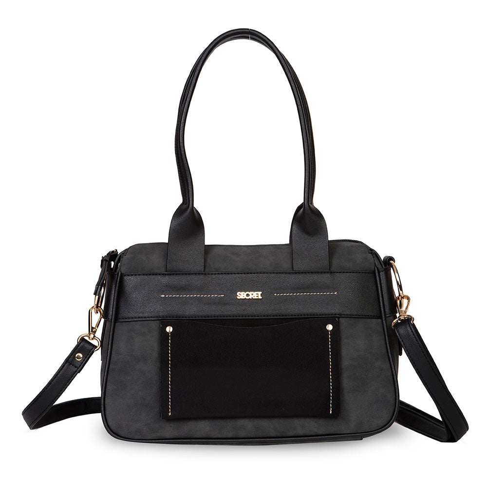Cartera Galway Fw20 Satchel Bag Black L