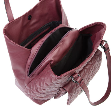 Cartera Waterford Fw20 Shoulder Bag Burgundy L